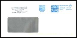 Bund / Germany: Stempel 'Wappen Kyffhäuserkreis, 2017' / Cancel 'Coat Of Arms' [99706 Sondershausen]