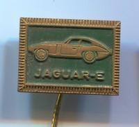 JAGUAR E - Auto, Car, Automotive, Vintage Pin, Badge, Abzeichen - Jaguar