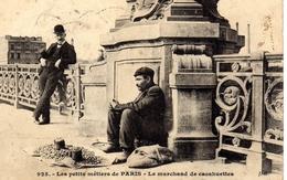 DPT 75 Les Petits Métiers De Paris - Le Marchand De Cacahuettes - Petits Métiers à Paris