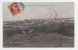 29 FINISTERE - LE CONQUET Vue Générale, Les Dolmens De Kermorvan, Aquarellée - Le Conquet