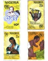 Ref. 368350 * MNH * - NIGERIA. 1986. UNICEF 40th ANNIVERSARY . 40 ANIVERSARIO DE LA U.N.I.C.E.F.