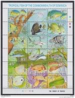 O31 Dominica - MNH - Marine Life
