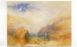 Postcard - Art - Turner - Lake Of Brienz Very Good - Non Classificati