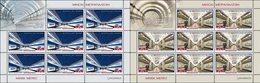 Belarus 2017 2 Full Sheets  MNH Minsk Metro