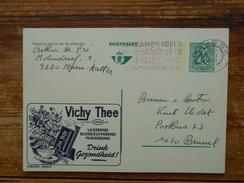 Postal Stationery, Thee.tea. Vichy