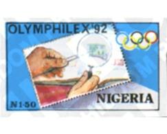 Ref. 368351 * MNH * - NIGERIA. 1992. OLYMPHILEX 92. INTERNATIONAL PHILATELIC EXHIBITION . OLYMPHILEX 92. EXPOSICION INTE