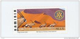 Namibie-2005-Rotary-Oryx-YT 1037***MNH