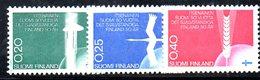 XP2460 - FINLANDIA 1967 , Unificato Serie 603/605  ***