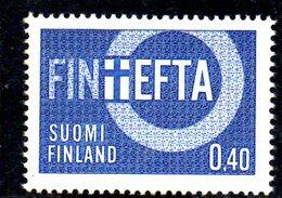 XP2461 - FINLANDIA 1967 , Unificato Serie 589  ***  EFTA