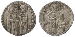GIOVANNI SORANZO 1312-1328  GROSSO Argento VENEZIA  #1715 - Italien