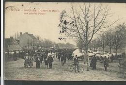 Allier , Moulins , Cour De Bercy Un Jour De Foire