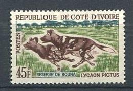 194 COTE D IVOIRE 1963/64 - Yvert 219 - Chien -  Neuf ** (MNH) Sans Trace De Charniere