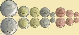 TRISTAN Da CUNHA 2008 Set Of 8 Coins UNC - Coins