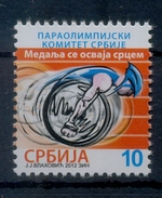 Serbia 2012 Paralympic Committee, Paralympic Games London, Sports, Tax, Charity, Surcharge, MNH