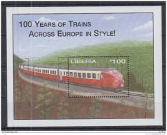 P31 Liberia - MNH - Transport - Trains