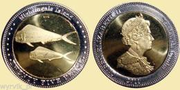 TRISTAN Da CUNHA Nightingale Islands 2011 25 Pence Bimetal UNC - Munten