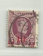 Timbre Belgique Roi Albert I    N° 246 - 10c Sur 15c - 1922-1927 Houyoux