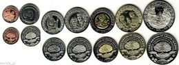 SANTA YSABEL 2012 Set Of 7 Coins UNC - Monete