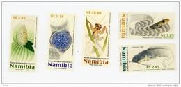 Namibie 2003-Découverte Biologique-Poison Chat-Insecte Gladiateur-flore-bactérie -YT 988/92***MNH