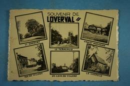 Souvenir De Loverval (multi-vues Le Cheniat, Le Terminus...) - Gerpinnes