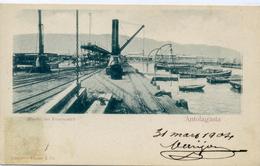 CHILI - Muelle Del Ferrocarril - ANTOFAGASTA. - Chili