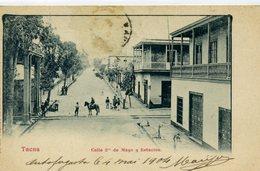 CHILI - TACNA - Calle 2'' De Mayo Y Estacion. - Chile