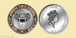 NIUE 2013 SNAKEBITE Year Of The Snake UNC CoA - Niue