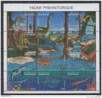 S31 Gabon - MNH - Animals - Prehistorics