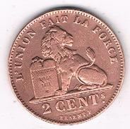 2 CENTIMES 1902 FR BELGIE /1723B/ - 1865-1909: Leopold II