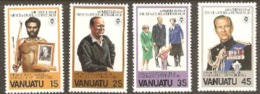 Vanuata 1981 SG 311-14 Duke Of Edinburgh  Unmounted Mint
