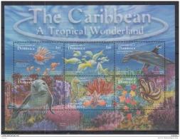 T31 Dominica - MNH - Marine Life