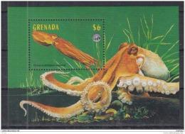 T31 Grenada - MNH - Marine Life