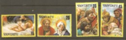 Vanuata 1982 SG 350-03 Christmas Unmounted Mint - Vanuatu (1980-...)