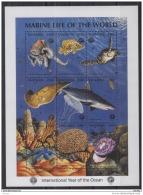 T31 Tanzania - MNH - Marine Life