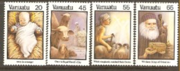 Vanuata 1987  SG 483-6 Christmasunmounted Mint