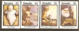 Vanuata 1987  SG 483-6 Christmasunmounted Mint - Vanuatu (1980-...)