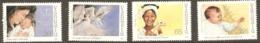 Vanuata 1988  SG 515-8 Christmas Unmounted Mint