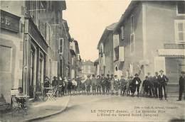 -ref-P898- Isere - Le Touvet - Grande Rue - Hotel Du Grand Saint Jacques - Hotels - Boulangerie - Enfants -