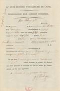 954/24 - Document 1803 Empire Français En BELGIQUE - Dénonciation Conscrit Déserteur - Van Robays De WAEREGEM - Documents Historiques