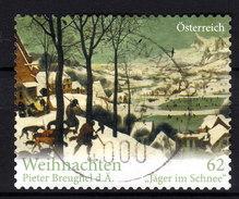 ÖSTERREICH 2012 - Weihnachten, Christmas - Pieter Breughel, Painter / Jäger Im Schnee