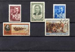 Russie 1956 -  YT 1846/50 Obl