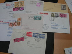 Europa Lot 7 Briefe Auch Express - Vrac (max 999 Timbres)