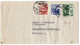 Autriche : Affranchissement Mixte Avec Timbres D'Allemagne Sur Lettre De 1938 De Linz Pour Berlin