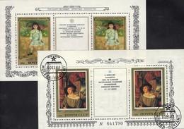 Malerei Holbein 1983 Sowjetunion Blocks 168+177 **/o 6€ Gemälde Renoir 1984 Ss Painting Blocs Art Sheets Bf USSR SU