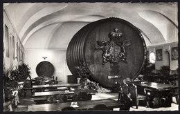 Weinkellerei Fürst Esterhazy - Riesenweinfass , Weinverkostung 1959 - Weinberge