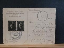 66/622 CP   BRIEFKAART  NED.  1938 NAAR JAMAICA