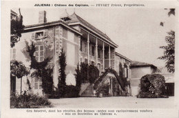 JULIENAS - Chateau Des Capitans - Peyret Frères Propriétaires - Cru Réservé .  (95358) - Julienas
