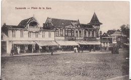 TERMONDE.-PLACE  DE LA GARE.