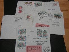 France 5 Alte Auch Express Briefe - Briefmarken