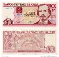 CUBA        100 Pesos        P-129e       2013         UNC - Cuba